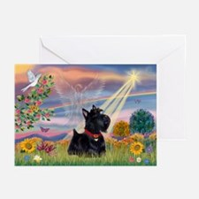 Cloud Angel & Scotty Greeting Cards (Pk of 10)