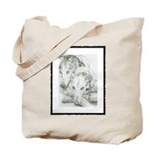 Cute Cancer pet Tote Bag
