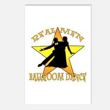 Real Men Ballroom Dance Postcards (Package of 8)