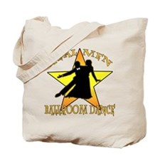 Real Men Ballroom Dance Tote Bag