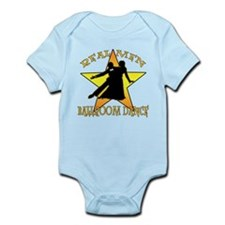Real Men Ballroom Dance Infant Bodysuit