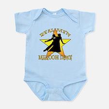 Real Men Ballroom Dance Infant Bodysuit