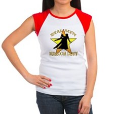 Real Men Ballroom Dance Women's Cap Sleeve T-Shirt