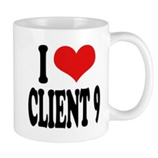 I Love Client 9 Mug
