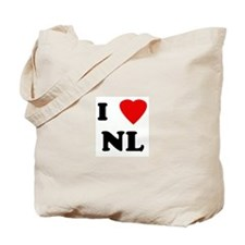 I Love NL Tote Bag