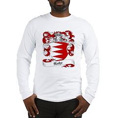 Rohr Family Crest Long Sleeve T-Shirt