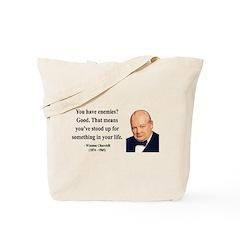 Winston Churchill 17 Tote Bag