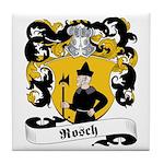 Rosch Family Crest Tile Coaster
