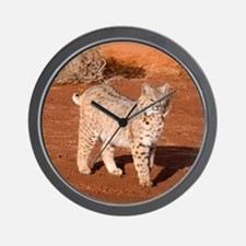 Bobcat Wall Clock