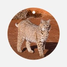 Bobcat Ornament (Round)