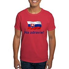 Slovak Na Zdravie! T-Shirt