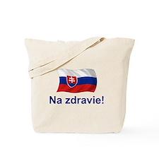 Slovak Na Zdravie! Tote Bag