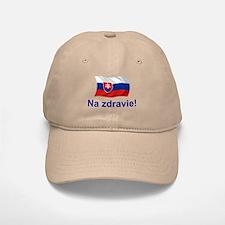 Slovak Na Zdravie! Baseball Baseball Cap