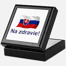 Slovak Na Zdravie! Keepsake Box