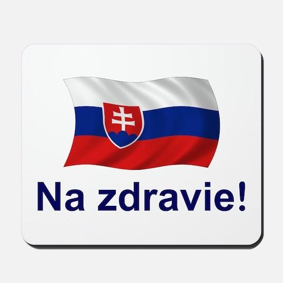 Slovak Na Zdravie! Mousepad
