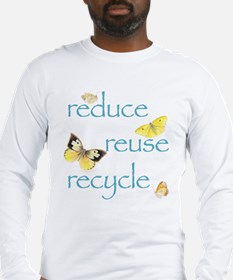 Unique Reduce reuse recycle Long Sleeve T-Shirt