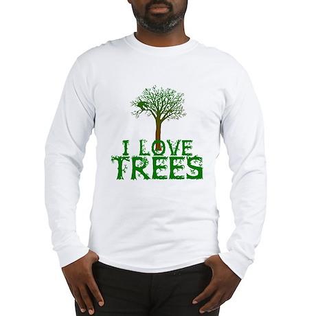 Earth Day - I love Trees Long Sleeve T-Shirt