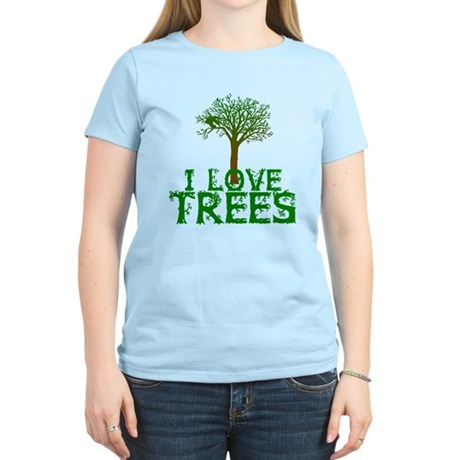 Earth Day - I love Trees Women's Light T-Shirt