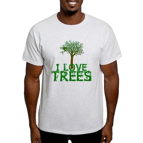 Earth Day - I love Trees Light T-Shirt