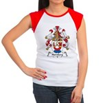 Hornberg Family Crest Women's Cap Sleeve T-Shirt