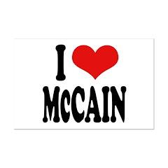 I Love McCain Posters