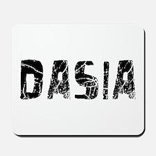 Dasia Faded (Black) Mousepad