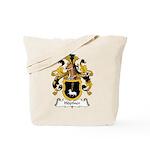Hopfner Family Crest Tote Bag