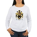 Hopfner Family Crest Women's Long Sleeve T-Shirt