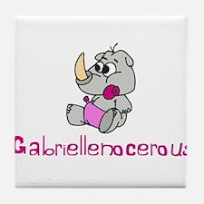 Gabriellenocerous Tile Coaster