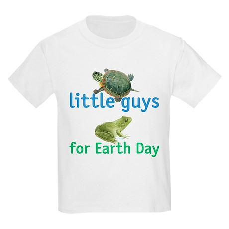 little guys for Earth Day Kids Light T-Shirt