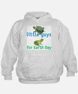 little guys for Earth Day Hoodie