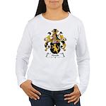 Honold Family Crest Women's Long Sleeve T-Shirt