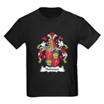 Homeyer Family Crest Kids Dark T-Shirt