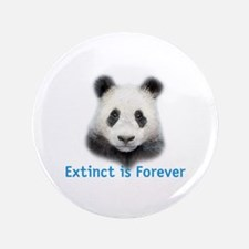 """extinct is forever 3.5"""" Button"""