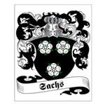 Sachs Family Crest Small Poster