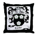 Sachs Family Crest Throw Pillow