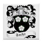 Sachs Family Crest Tile Coaster