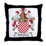 Hohnstein Family Crest Throw Pillow