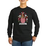 Hohnstein Family Crest Long Sleeve Dark T-Shirt