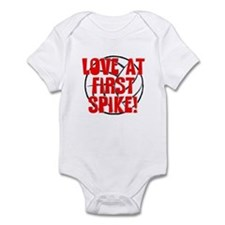 Love at First Spike Infant Bodysuit