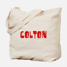 Colton Faded (Red) Tote Bag