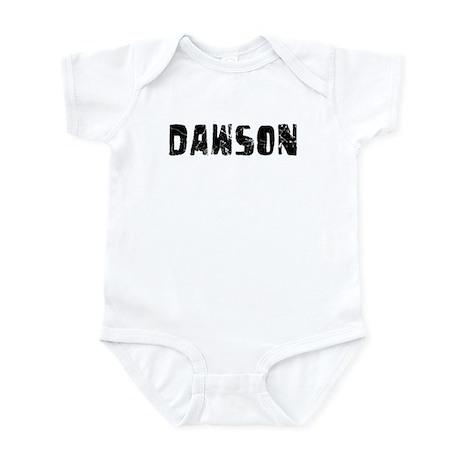 Dawson Faded (Black) Infant Bodysuit