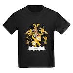 Hoff Family Crest Kids Dark T-Shirt