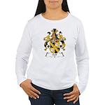 Hoff Family Crest Women's Long Sleeve T-Shirt