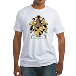 Hoff Family Crest Fitted T-Shirt