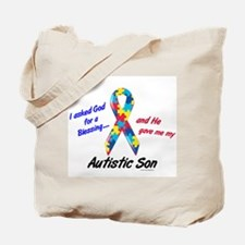 Blessing 3 (Autistic Son) Tote Bag