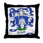 Schaff Family Crest Throw Pillow