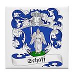 Schaff Family Crest Tile Coaster