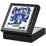 Schaff Family Crest Keepsake Box