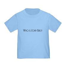 Who is John Galt? Atlas Shrugged T
